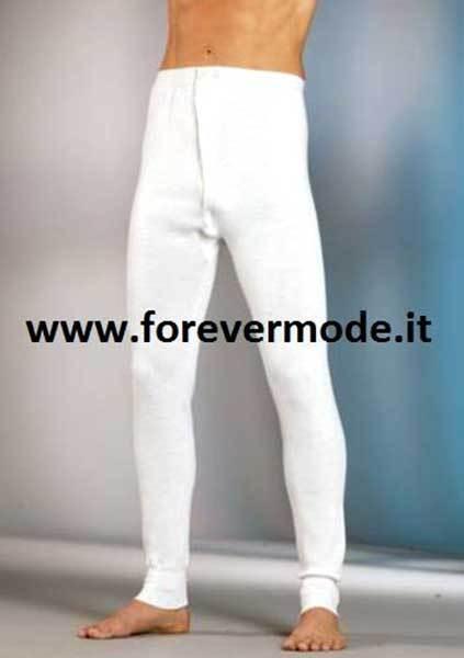 Adaptable Culotte Homme Gicipi Longue Jambe Woolmark Avec Ouverture Accordéons Bouton Art Volume Large