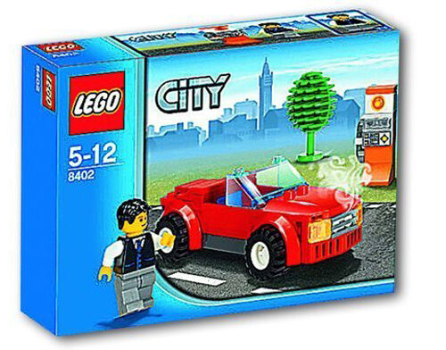 8402 CLASSIC SPORTS CAR lego NEW city town SEALED legos set retired congreenable
