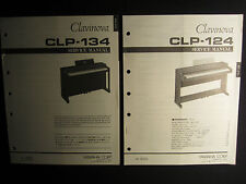 Yamaha Clavinova Organ CLP-134 Service Shop Manual Schematics Parts List CLP134
