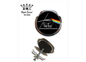 Royale Car Grill Badge + Fittings - PINK FLOYD DARK SIDE OF THE MOON - B2.2949