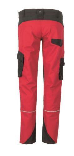 Planam Norit Damen Bundhose rot schwarz Modell 6417