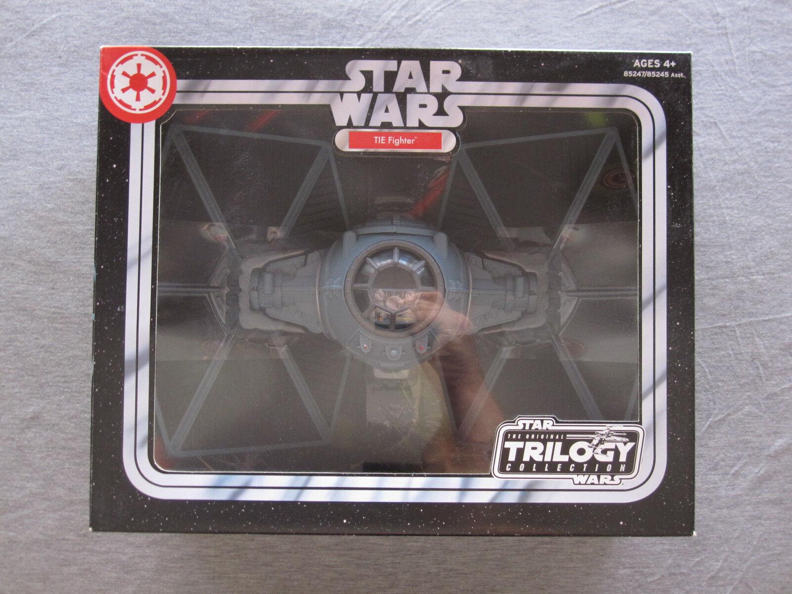 stjärnornas krig TIE Fighter ORIGINAL TRILOGIKOLLEKTION 2004 Hasbro Factory förseglad