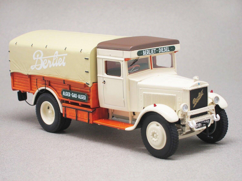 BERLIET GDHM 1932, véhicule miniature PERFEX 907