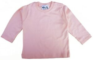 SALE-ITEM-5-pack-of-Baby-Long-Sleeve-Cotton-Tops-in-Pink-Size-12-18-Months