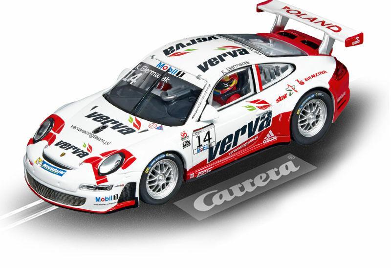 Carrera 1 32 Slot Car 20027507 Evolution Porsche GT3 RSR Lechner Racing Team NEW