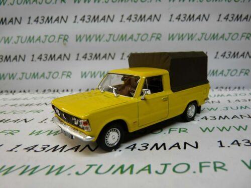 Polski Fiat 125 P Pick-up coberto Carro PL87M 1//43 Ixo Ist déagostini Polônia