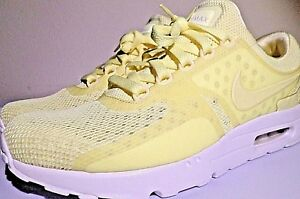 sports shoes 53208 64730 Image is loading NIKE-AIR-MAX-ZERO-BREATHE-9-5-YELLOW-