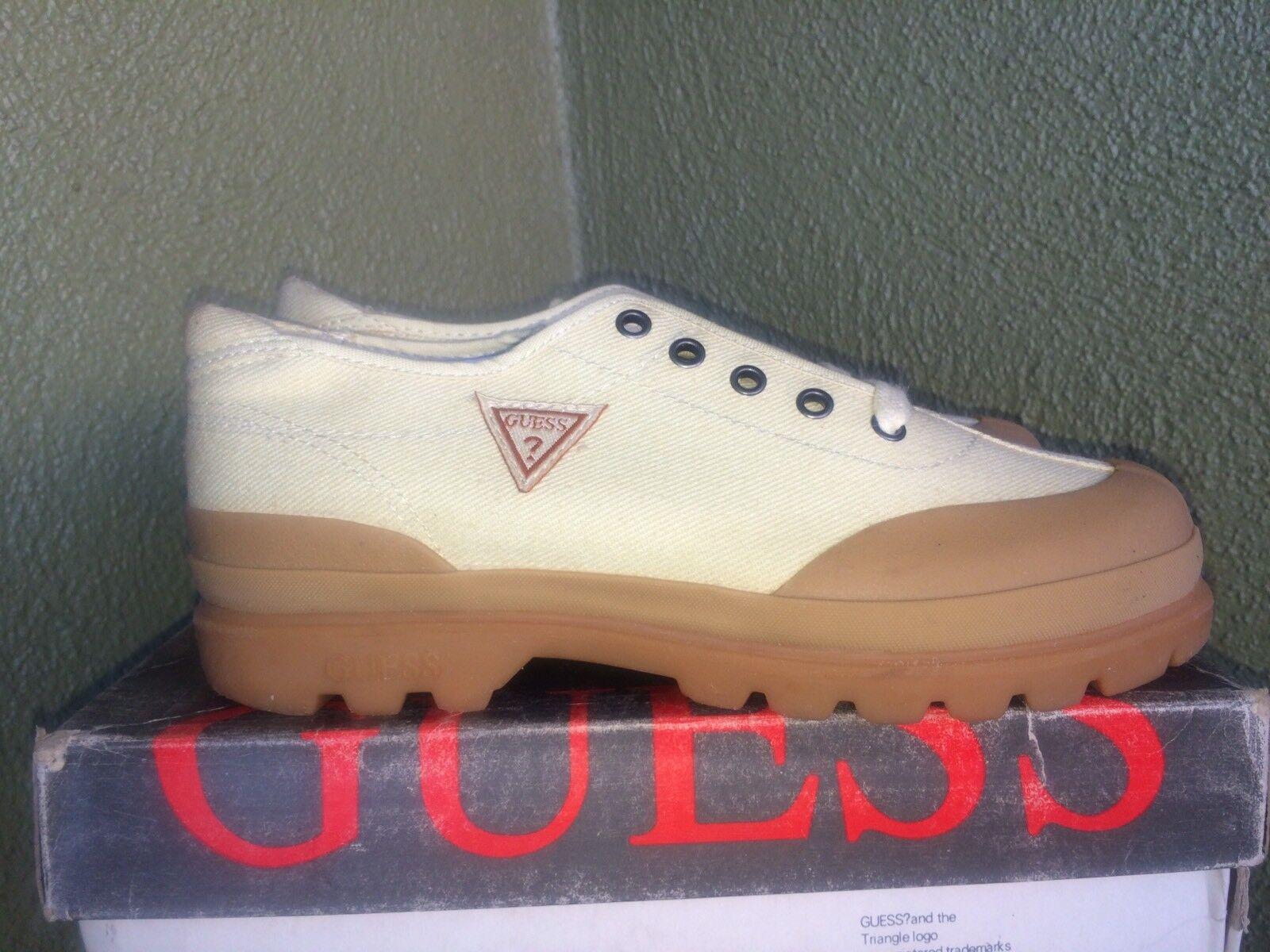 VINTAGE 1990's GUESS Flatrock Junior Low Size 5.5US Women Georges Marciano Jeans