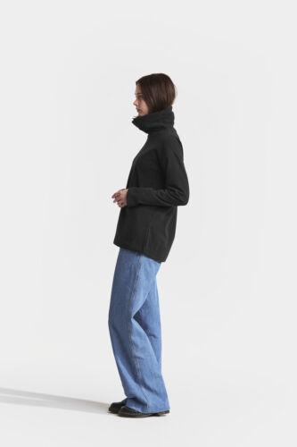 Didriksons Fleecepullover Pulli Johanna Women/'s Polo  schwarz atmungsaktiv