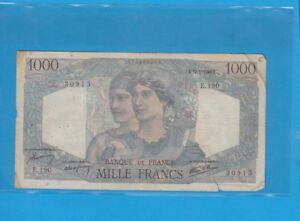 1 000 Francs Minerve Et Hercule Du 17-1-1946 E.190 Ifefnbnl-07234114-567809718