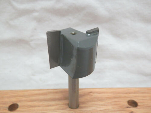 """1 NEW  MLCS 1/"""" D Straight Carbide Tipped Router Bit 1//4/"""" Shank 2 flute n2"""