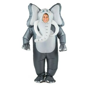 Bodysocks ® gonfiabile ELEFANTE Costume Full Body Animale Halloween Festa Safari