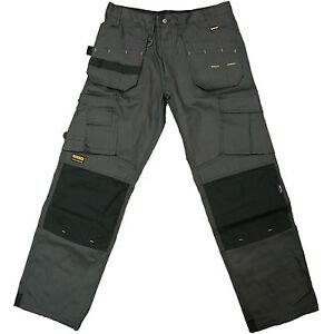 DEWALT-PRO-Tradesman-Pantaloni-da-lavoro-grigio-DWC26-014-Girovita-Taglia-32-42-034-Gamba-31-33-034