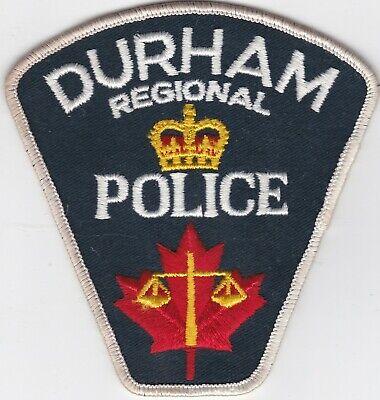 Vintage Waterloo Regional Police Shoulder Patch Ontario Scotia Canada
