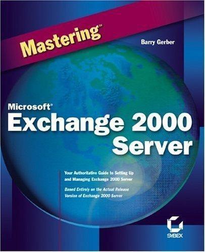 Mastering Exchange Server 2010 Pdf