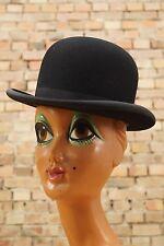 alter Herrn Hut Melone vintage Bowlerhat Bowler schwarz antik Hat 1900