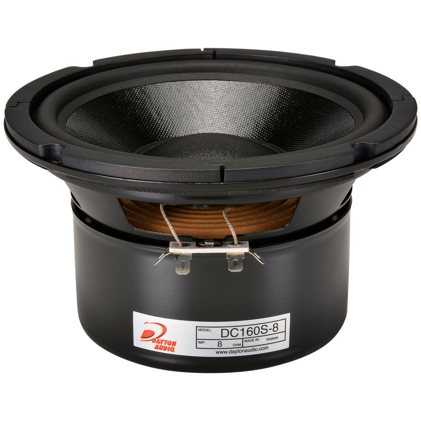 Dayton Audio DC160S-8 6-1 2  Classic Shielded Woofer