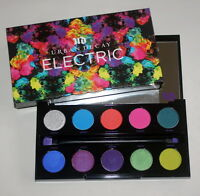 Genuine Urban Decay Electric Pressed Pigment Palette & Brush Bnib