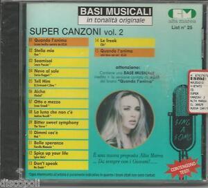BASI-MUSICALI-Super-canzoni-vol-2-CD-SEALED