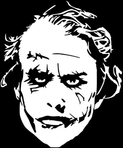 Joker Vinyl Decal Sticker Car Window Design Laptop Mastermind Batman USA Seller