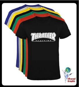Sizes Camiseta Skate Ebay Skateboard T Shirt Thrasher All xTwBvHgnqT