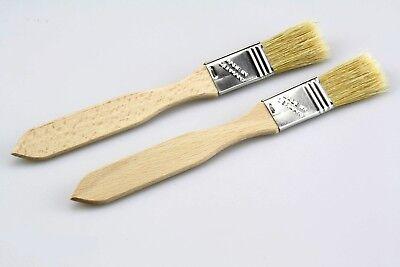 Pinsel 20 mm Flachpinsel malen streichen primer Lack Ecken made in germany neu