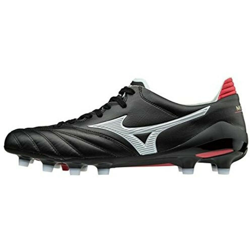 MIZUNO P1GA165001 Morelia Neo II II II 2 Football scarpe nero Leather US6 UK5.5 24.0cm abbe97