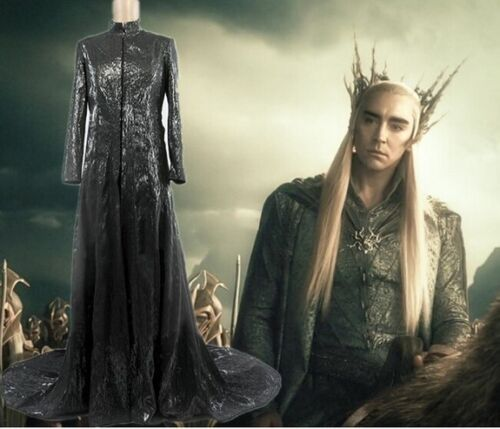The Hobbit Elves King Thranduil Cosplay Costume Deluxe Outfit Custom Made