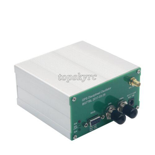GPSDO 10M Output GPS Disciplined Oscillator Clock Sinusoidal Wave RS232 US SHIP