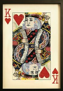 King-Of-Hearts-Collage-Wall-Art-Great-statement-piece