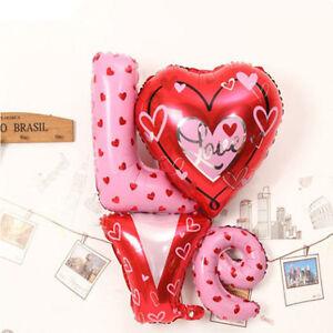 Das Bild Wird Geladen Alphabet Love Muster Ballon Ligatur Folienballon  Zimmer Zierde