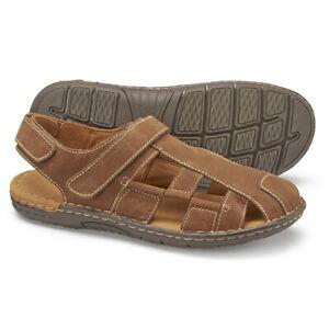 Samuel-Windsor-Men-039-s-Summer-Fisherman-039-s-Sandals-Leather-Shoes-Size-6-12-NEW