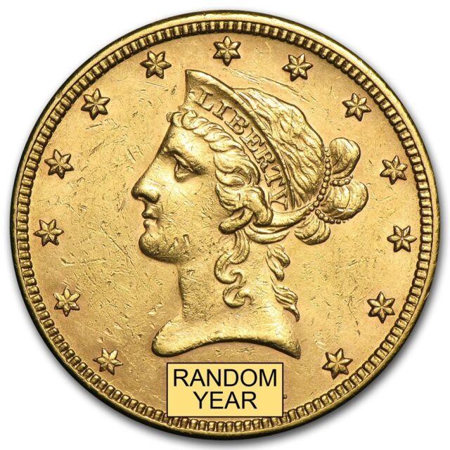 $10 Liberty Gold Eagle AU (Random Year) - SKU #155346