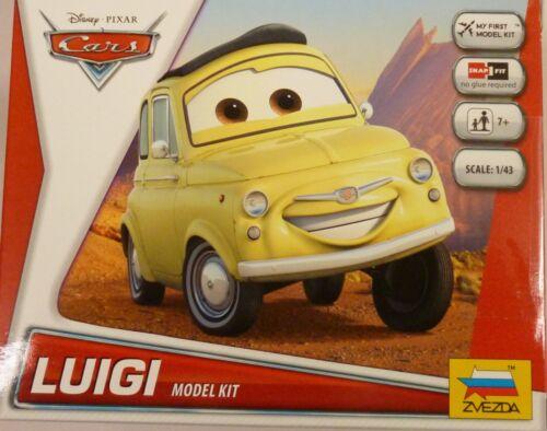 Zvezda Disney Pixar Cars Luigi snap Together Kit 2016