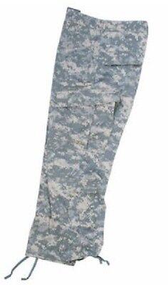 Motivata Us Acu At Digital Army Ucp Digi Camo Cotton Rip Stop Pants Trousers Pantaloni Xxlarge-