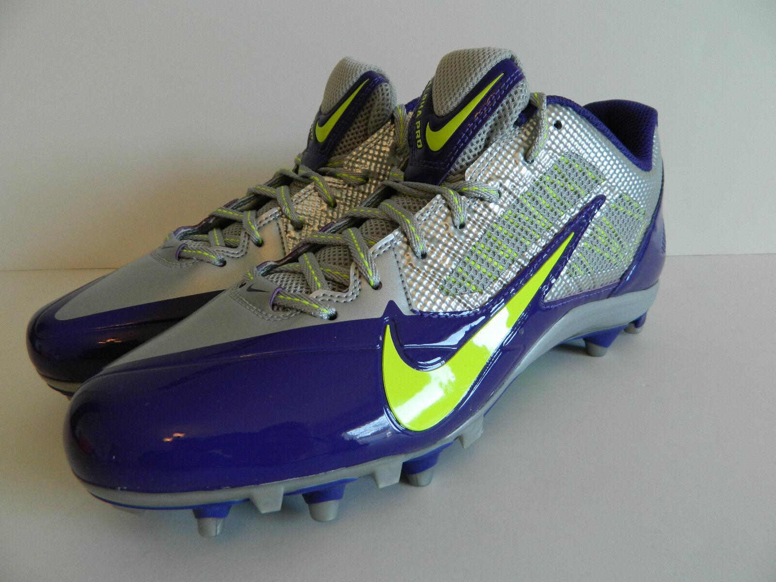 Nike / alpha (td (metalic silver / Nike volt - crt viola) (579545 075) 2b2ed1