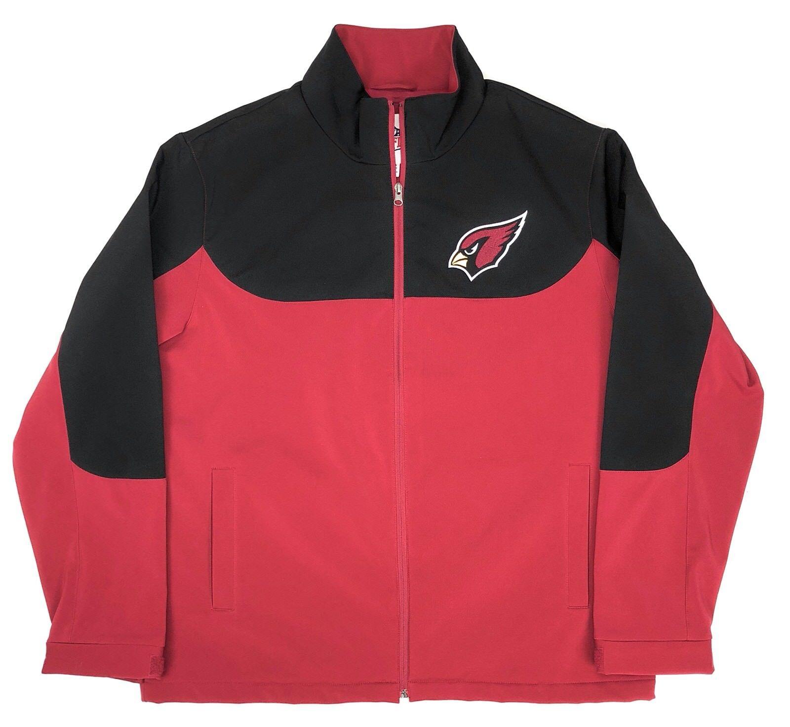 Arizona Cardinals Jacket Men's XL Polyester Stretch Vlies