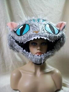 Licensed Disney Cheshire Cat Headpiece Costume Mask Wonderland Alice thru Glass