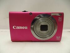 Canon PowerShot A2300 HD 16 MegaPixel 5X Optical Zoom Digital Camera GREAT COND