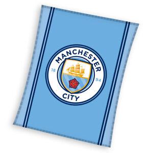 Manchester-City-FC-Fussball-Fleecedecke-Kuscheldecke-Fleece-Blanket-MCFC