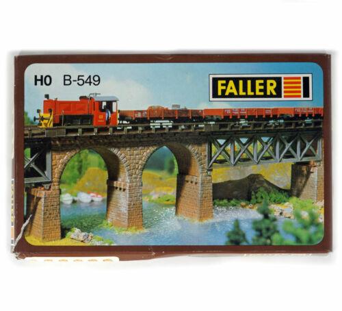 Details about  /FALLER B-549 B549 HO H0 KIT Bridge piers brugpijlers Piliers de vaduc