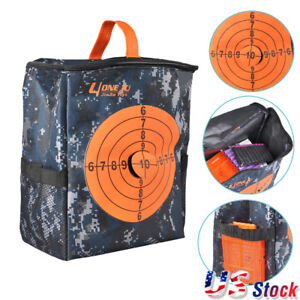 Kids Toy Gun Target Pouch Darts Bullet Storage Equipment Bag for NERF N-Strike