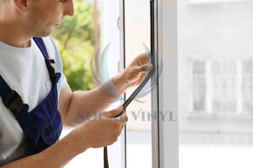 Door Insulation Rubber Weather Strips Draught Excluder Foam Window Noise Seal