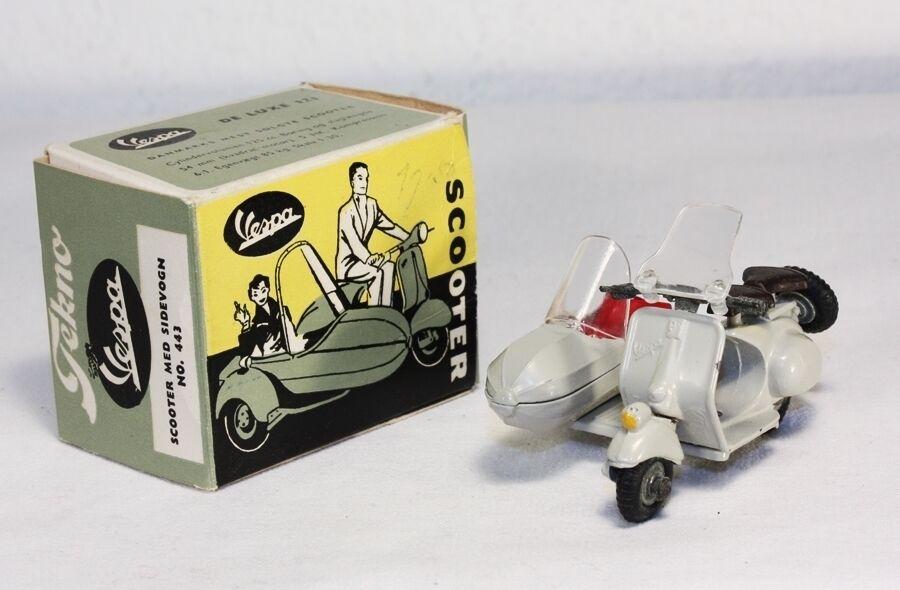 promocionales de incentivo Tekno 443, Scooter med sidevogn, Mint en Box  ab1227 ab1227 ab1227  entrega rápida