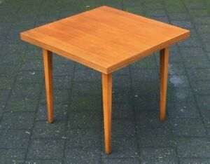 vintage sixties side table theobald m bel 60er jahre ebay. Black Bedroom Furniture Sets. Home Design Ideas