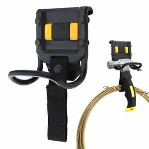 Tool-Holder-with-Claw-Hammer-60mm-Hook-Loop-Belt-Hanging-Power-Cord-Wire-Mgmt