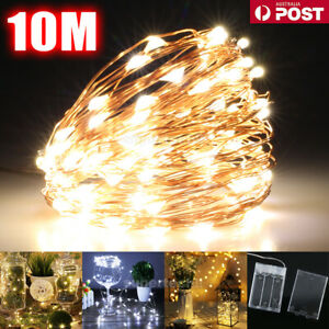 20-100-LED-Battery-Powered-String-Fairy-Lights-Copper-Wire-Waterproof-Xmas-Decor