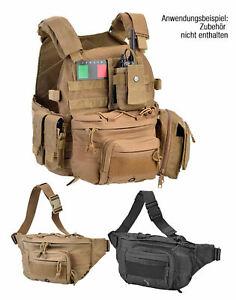 schwarze Gürteltasche Polizei Security Täschen tactische Tasche für Molle System