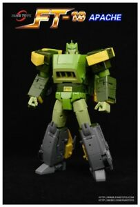 Transformers Toy Fans Toys FT-19 Apache G1 Spring Action figure New instock