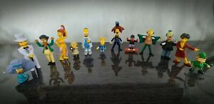 SUPER RARE The Simpsons Collectable Figure Bundle Set Homer Bart Fox tpf.com.au